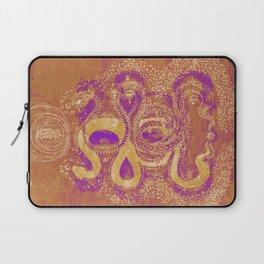 Snake Destiny (Golden Colors) Laptop Sleeve