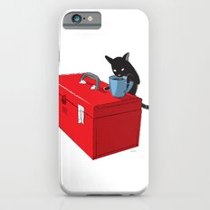 Chat Noir Beverage Tipper iPhone 6 Slim Case