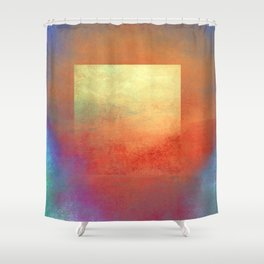 Square Composition II Shower Curtain
