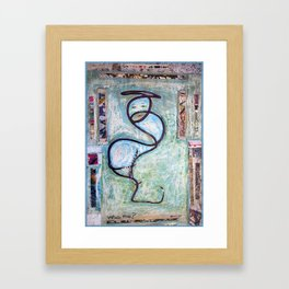 Who Me? Framed Art Print