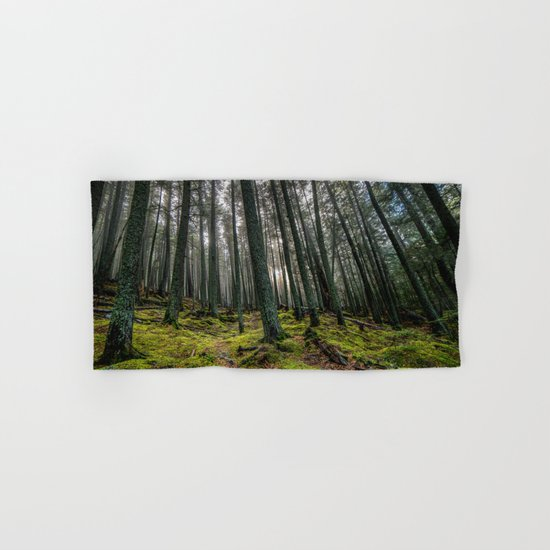 Escape Into The Woods Hand & Bath Towel