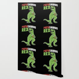 Papasaurus | Father's Day Dinosaur Wallpaper