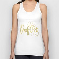 diamond Tank Tops featuring Diamond by haroulita