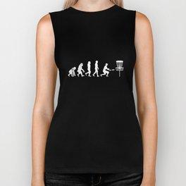 Disc Golf Evolution T-Shirt Funny Darwin Evolution Tee Biker Tank