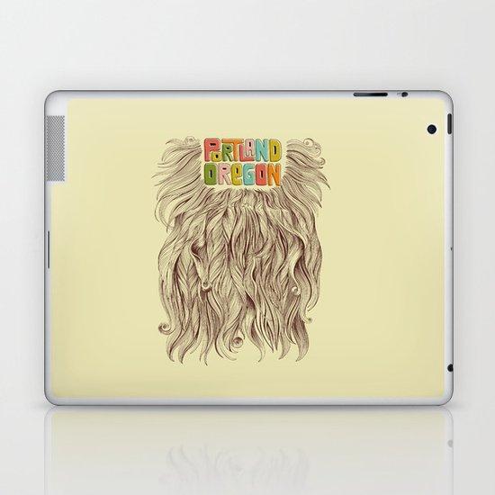 Portland = Beards Laptop & iPad Skin