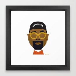 Spike Lee Framed Art Print