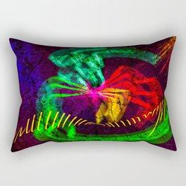 Color captionem Rectangular Pillow