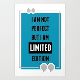 life quote Art Print