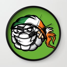 Football - Ireland Wall Clock