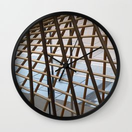 Lines and Angles Wall Clock