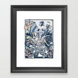 Anchorman's ruin Framed Art Print