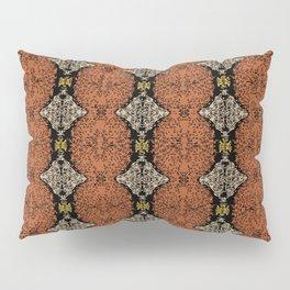 Brahma Play - (Rust - Ceylon Yellow - Almond Buff) Pillow Sham