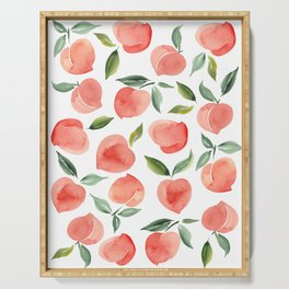peaches Serving Tray