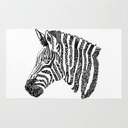 Complex Zebra Rug