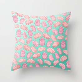 Squishy Tardigrades Throw Pillow