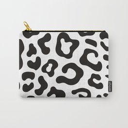 black cheetah prints Carry-All Pouch