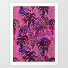 LOST - Magenta Art Print