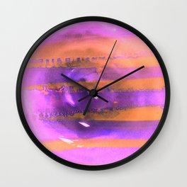 Encircle Pink Wall Clock
