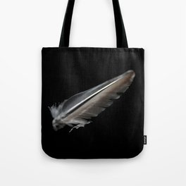 Floating Feather  Tote Bag