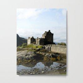 Eilean Donan - Vertical Metal Print