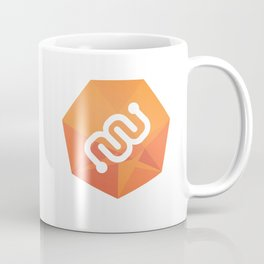 Eyewire Logo Badge Orange Coffee Mug