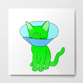 """Heckin Angry Lampshade"", by Brock Springstead Metal Print"
