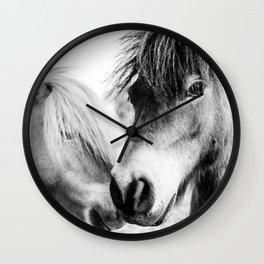 Almo and Billy Bear Wall Clock