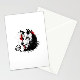 Wolf Okami Stationery Cards