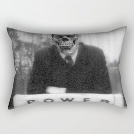 Power Rectangular Pillow
