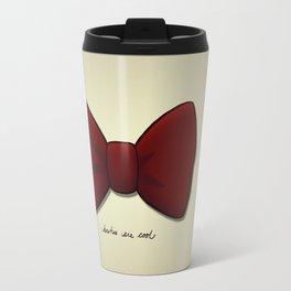 bowties are cool. Travel Mug