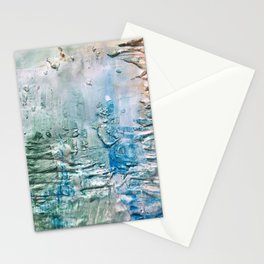 Textured Waves Stationery Cards