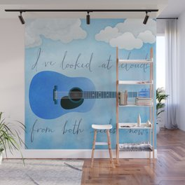I've Looked At Clouds From Both Sides Now Wall Mural