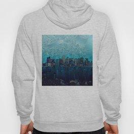boston city skyline Hoody