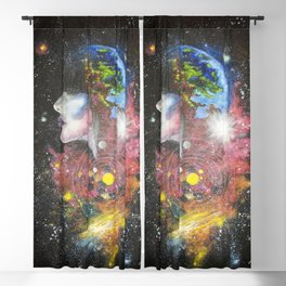 Gypsy Universe Blackout Curtain