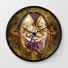 The Cheshire Cat Wall Clock