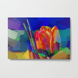 The InFocus Tulip Collection II Metal Print