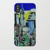 buildings iPhone & iPod Cases featuring buildings by ranerrim