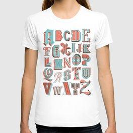 Alphabet Poster T-shirt