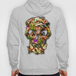 United animal Kingdom Sugar Skull Hoody