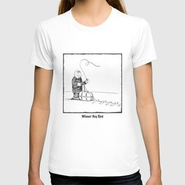 Wiener Dog Sled T-shirt