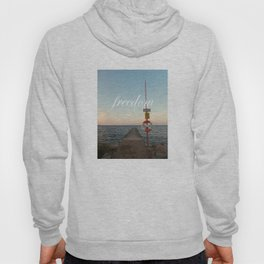 Freedom (with words) Hoody