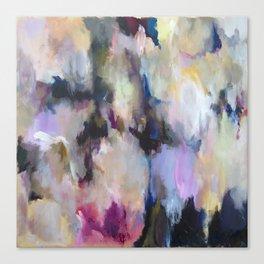Colourful Abstract - Grandma's Garden Canvas Print