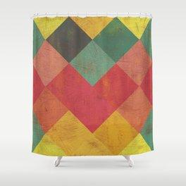 Aztec Vintage Pattern 11 Shower Curtain