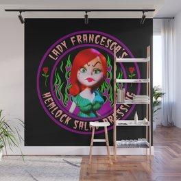 LADY FRANCESCA - HEMLOCK SALAD DRESSING Wall Mural
