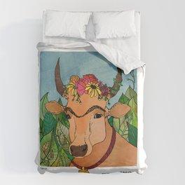 Frida Cowlo Duvet Cover