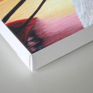 L'amour à deux Canvas Print