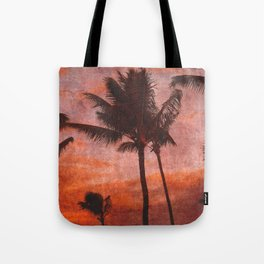 Maui Palms at Sunset Tote Bag