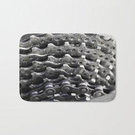 Rear mountain bike cassette Bath Mat