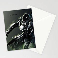 Dual Gunner Stationery Cards