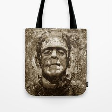The Creature - Sepia Version Tote Bag